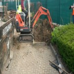 excavation for paved area Photbox London