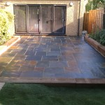 Garden renovation finished Acton London