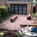 Garden renovation post dig out Acton London