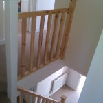 New staircase rails complete Wembley London