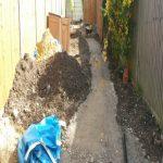 Garden progressing Perivale